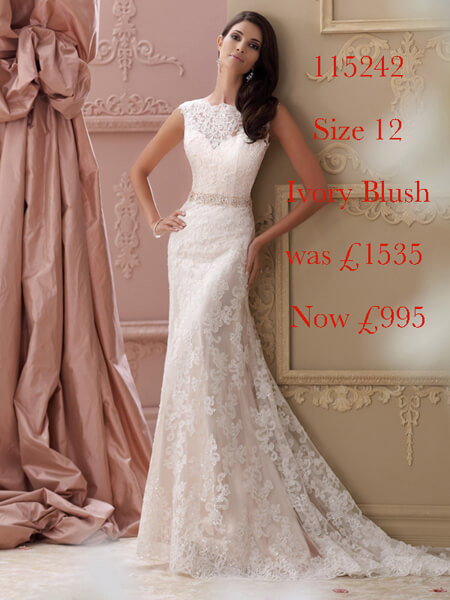 115242 Marilyn Mon Cheri Bridal sale gown