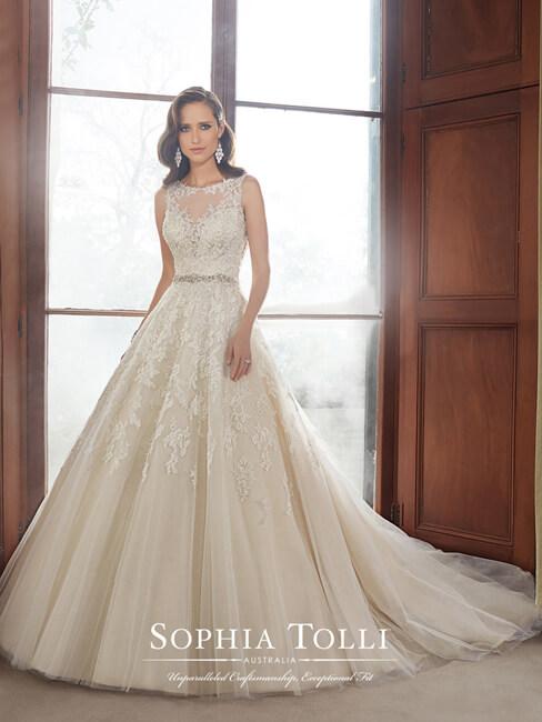 Sophia Tolli Y21520 Carson Bridal Sale Gown
